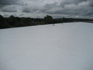 PVC TPO Roofing Massachusetts Completed PVC Roofing System Industrial Commercial
