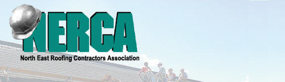 commercial roofing contractor company association logo